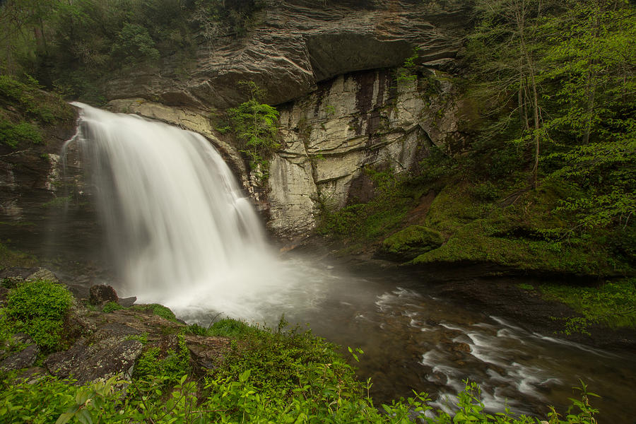 Water Photograph - Looking Glass Falls by Doug McPherson