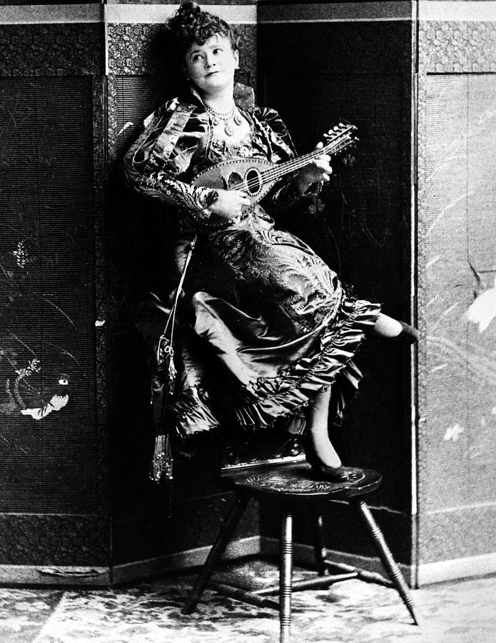 19th Century Photograph - Lotta Crabtree (1847-1924) by Granger