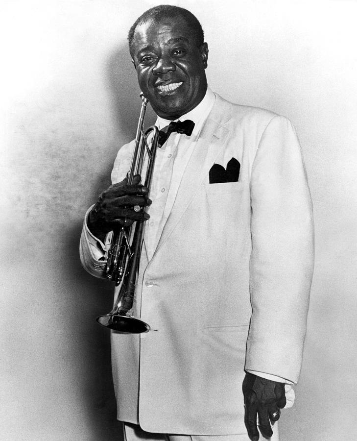 20th Century Photograph - Louis Armstrong (1900-1971) by Granger