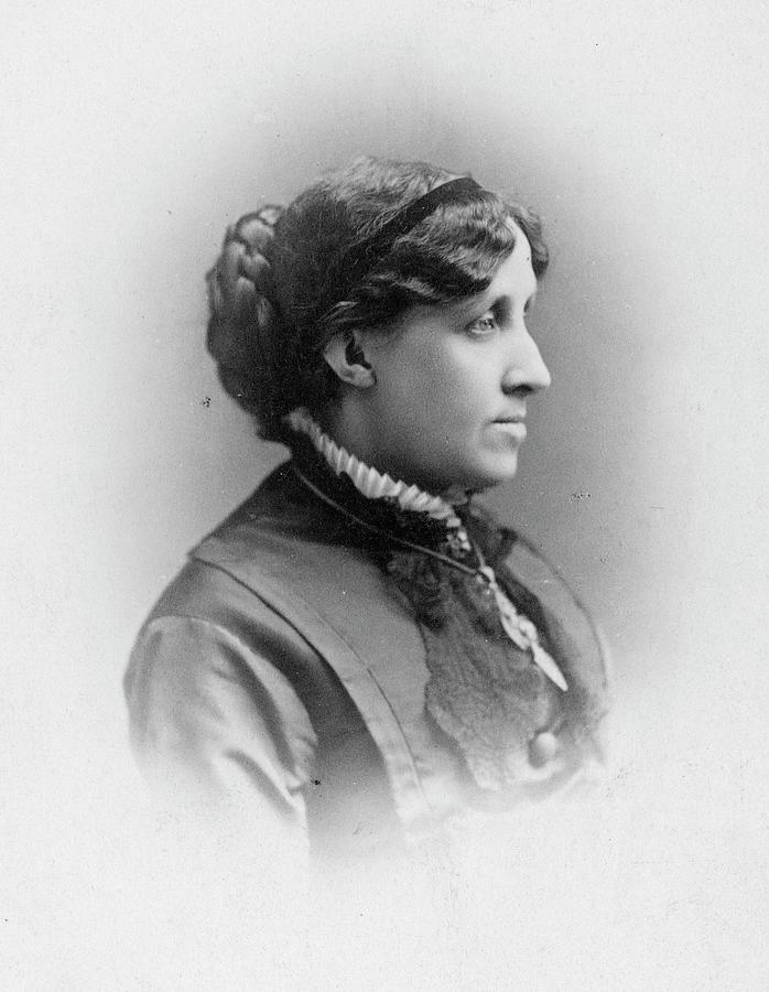 19th Century Photograph - Louisa May Alcott (1832-1888) by Granger