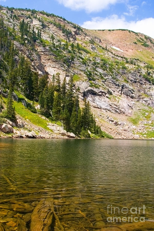 Lower Crater Lake Photograph
