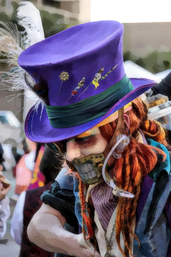 Hat Photograph - Mad Hatter by James Stough