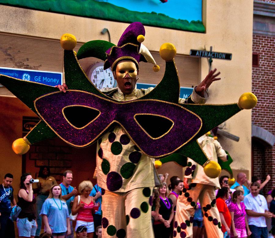 Mardi Photograph - Mardi Gras by Brett Kurtz