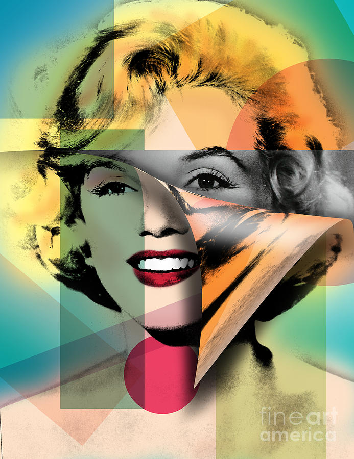 Famous Women Photograph - Marilyn Monroe by Mark Ashkenazi