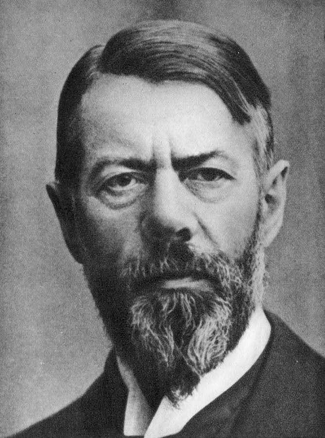 19th Century Photograph - Max Weber (1864-1920) by Granger