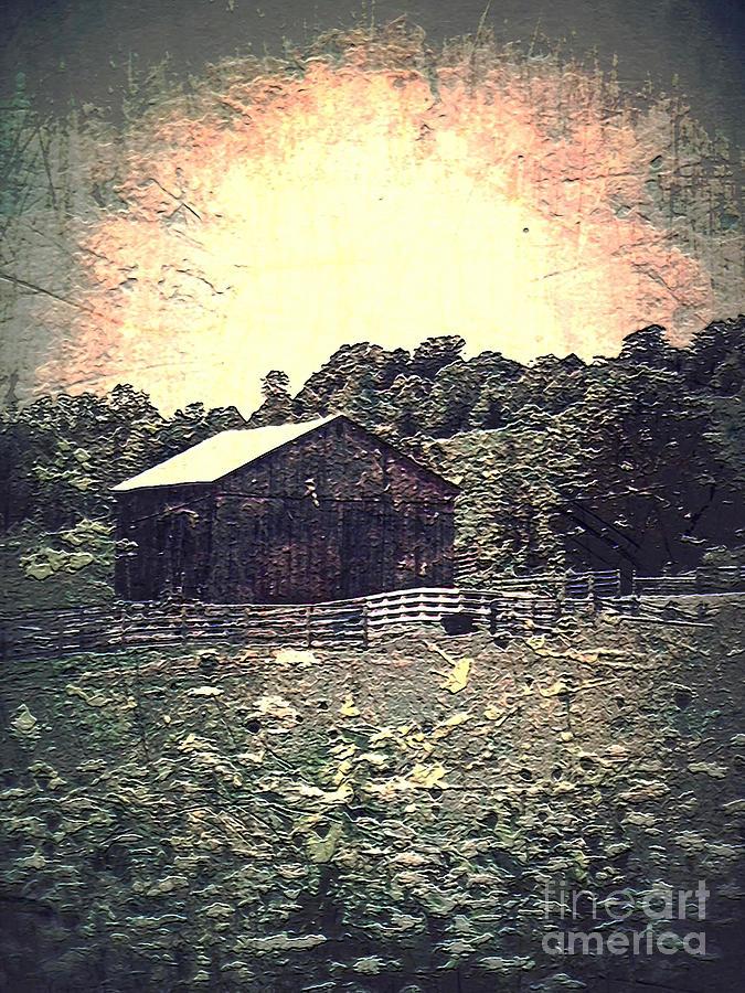 Landscape Digital Art - Meadow Of Memories by Miss Dawn
