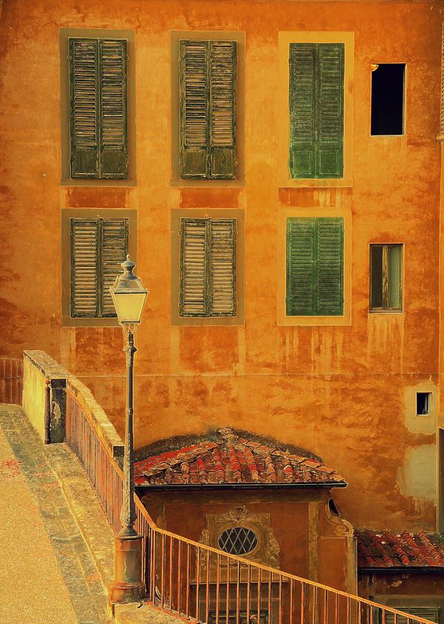 Florence Photograph - Medieval Windows by Caroline Stella
