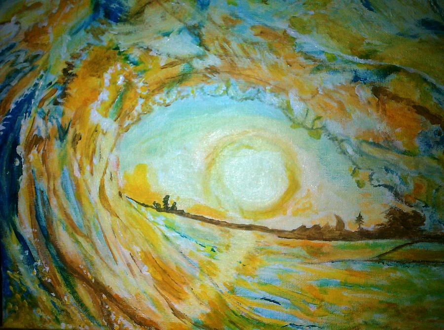 Mellow Yellow Painting - Mellow Yellow  by Michelle Reid