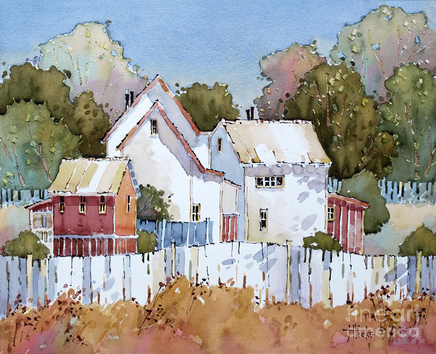 Mendocino Moment Painting By Joyce Hicks