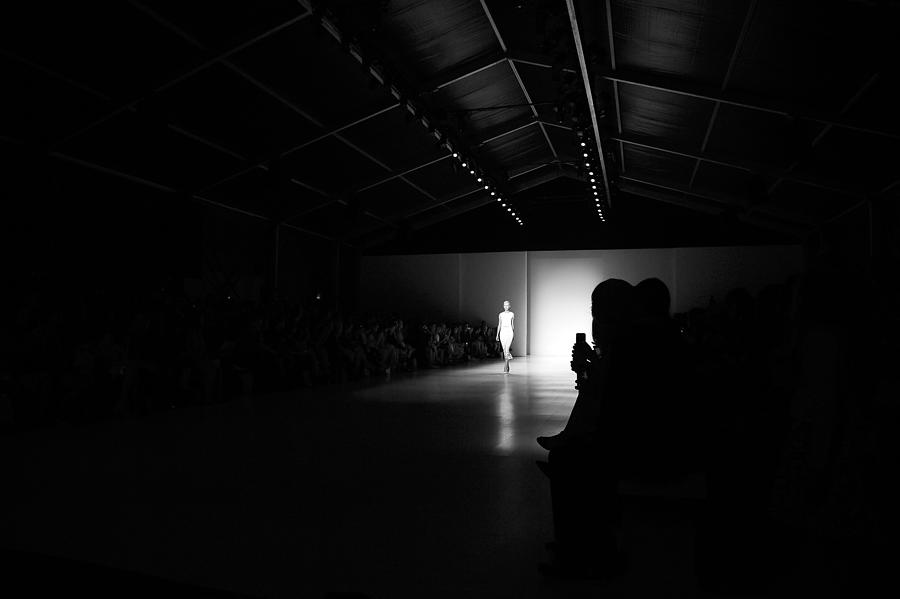 Mercedes-benz Fashion Week Spring 2015 Photograph by Andrew H. Walker