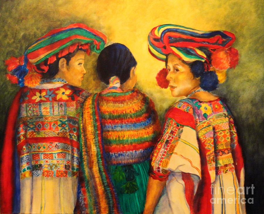 Mexico Painting - Mexican Impression by Dagmar Helbig