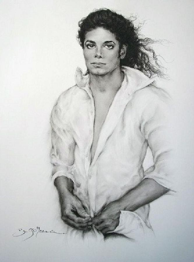 Michael Jackson Drawing - Michael Jackson by Guillaume Bruno