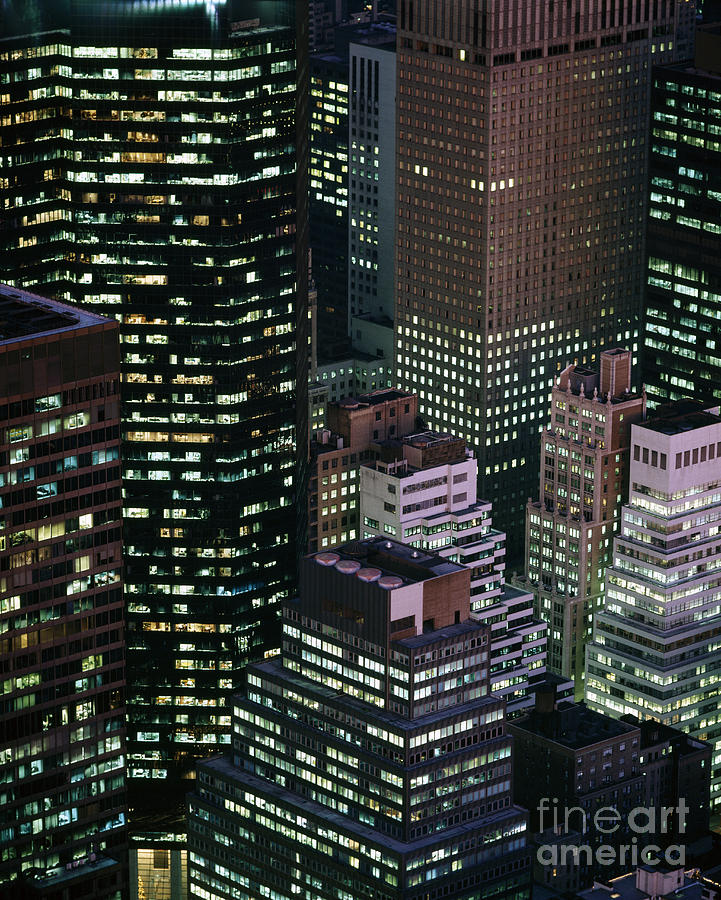 Manhattan Photograph - Midtown Manhattan by Rafael Macia
