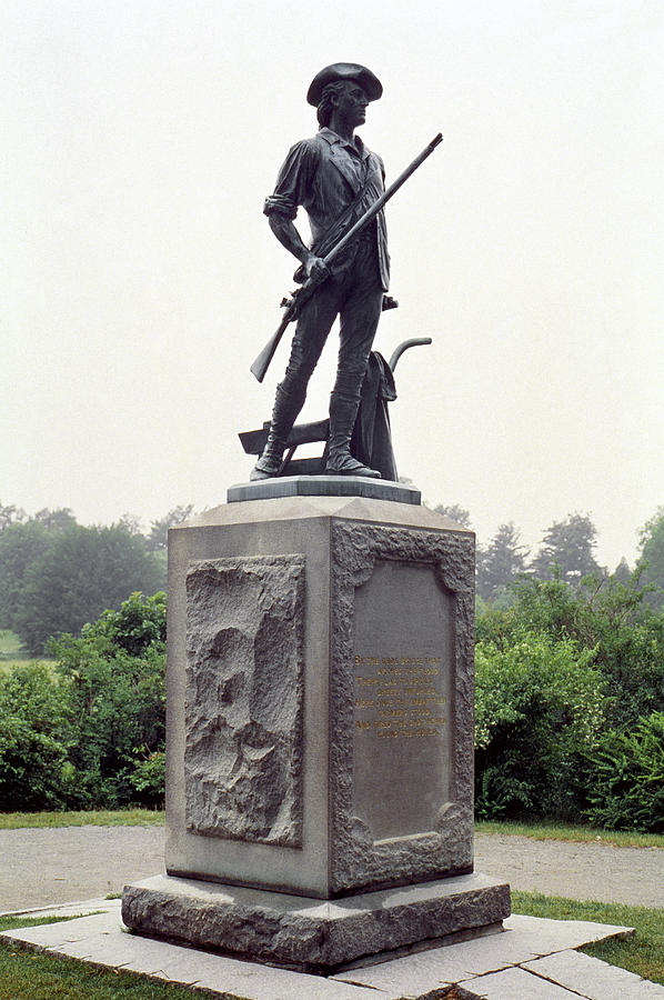 American Photograph - Minutemen Soldier by Granger