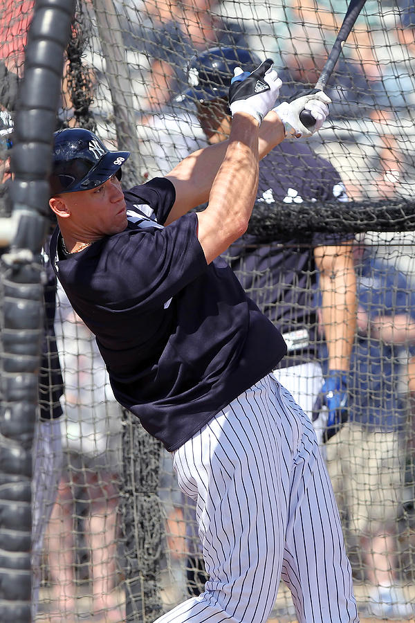 MLB: FEB 20 Spring Training - Yankees Workout Photograph by Icon Sportswire