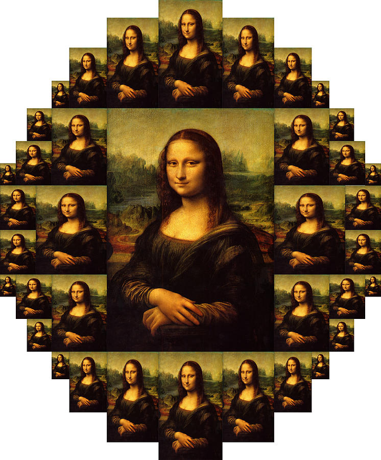 Mona Lisa Painting - Mona Lisa by Moshfegh Rakhsha
