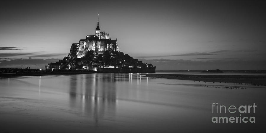France Photograph - Mont-st-michel Normandy France by Colin and Linda McKie