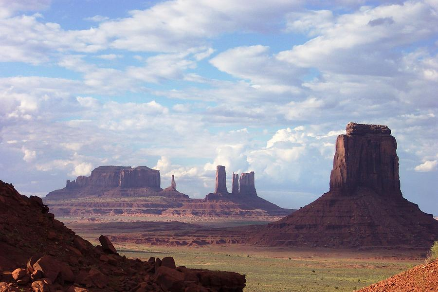 Monument Valley Photograph - Monument Valley by Pamela Schreckengost