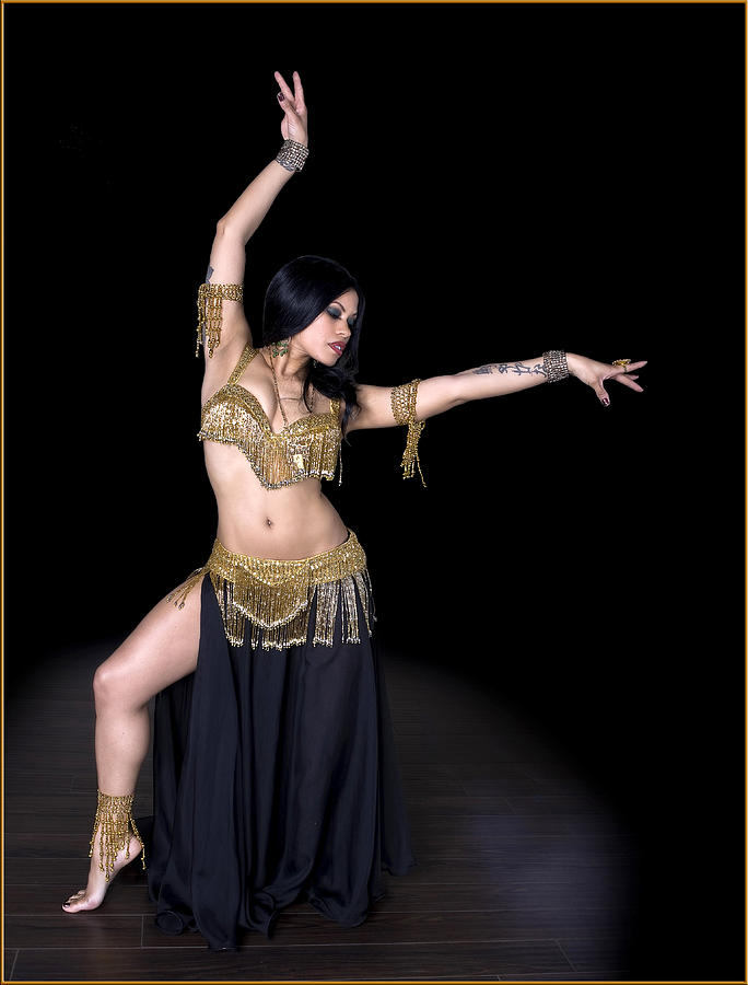 Moroccan Belly Dancer Photograph by Michael Torres