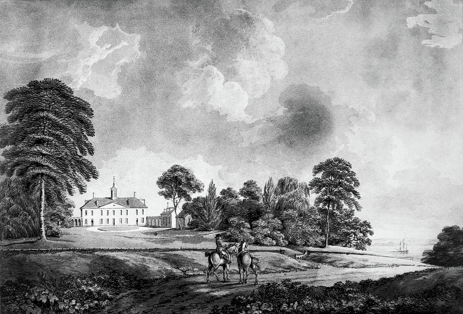 1798 Painting - Mount Vernon, 1798 by Granger