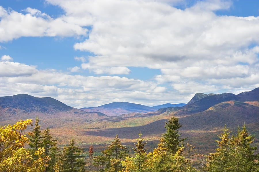 Mountains In Fall Mount Blue State Park Weld Maine