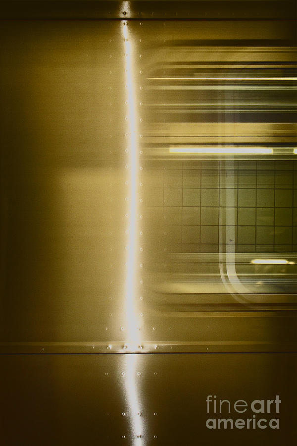 Abstract Photograph - Moving by Margie Hurwich