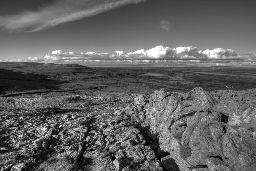 Burren Photograph - Mullaghmore Mountain View by John Quinn