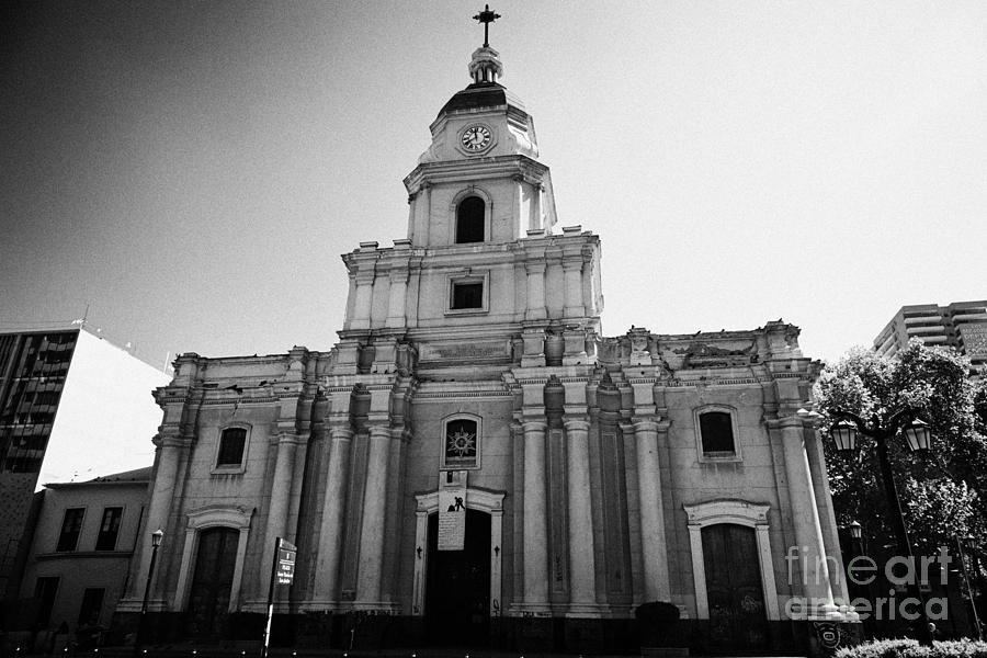 Historical Photograph - museo historico nacional national history museum chilean Santiago Chile by Joe Fox