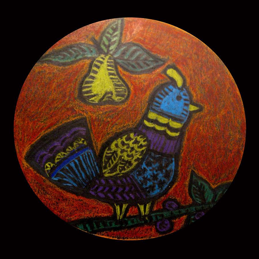 Mandala Drawing - My True Love Gave To Me by Patricia Januszkiewicz