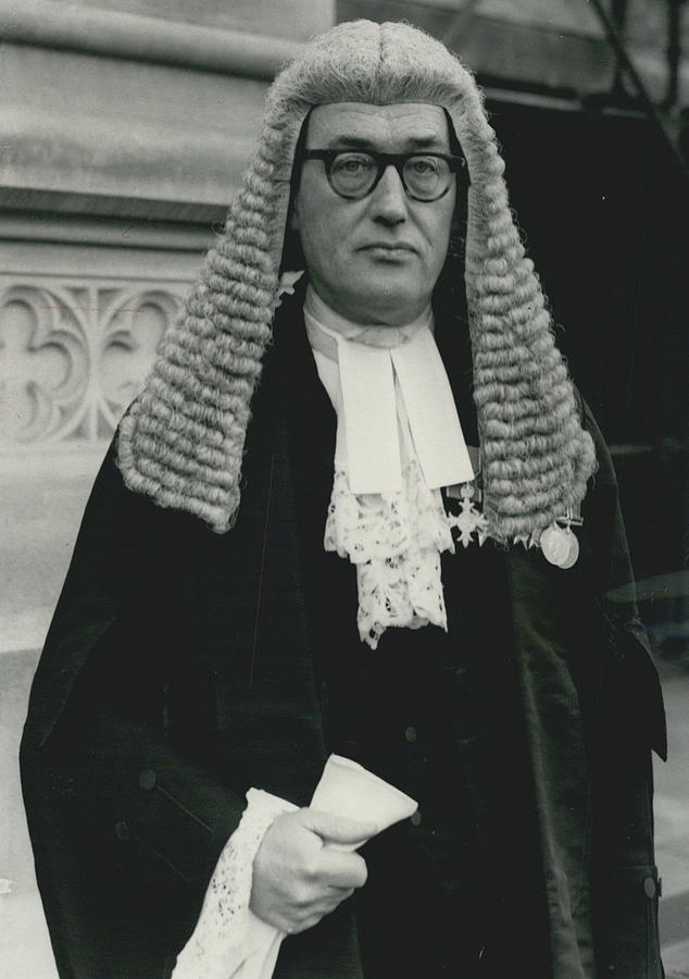 Retro Photograph - New Queen�s Counsel Sworn - In At House Of Lords by Retro Images Archive