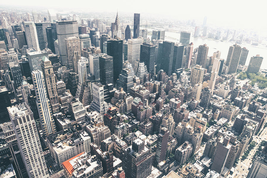 New York City From Above Photograph by Vivienne Gucwa