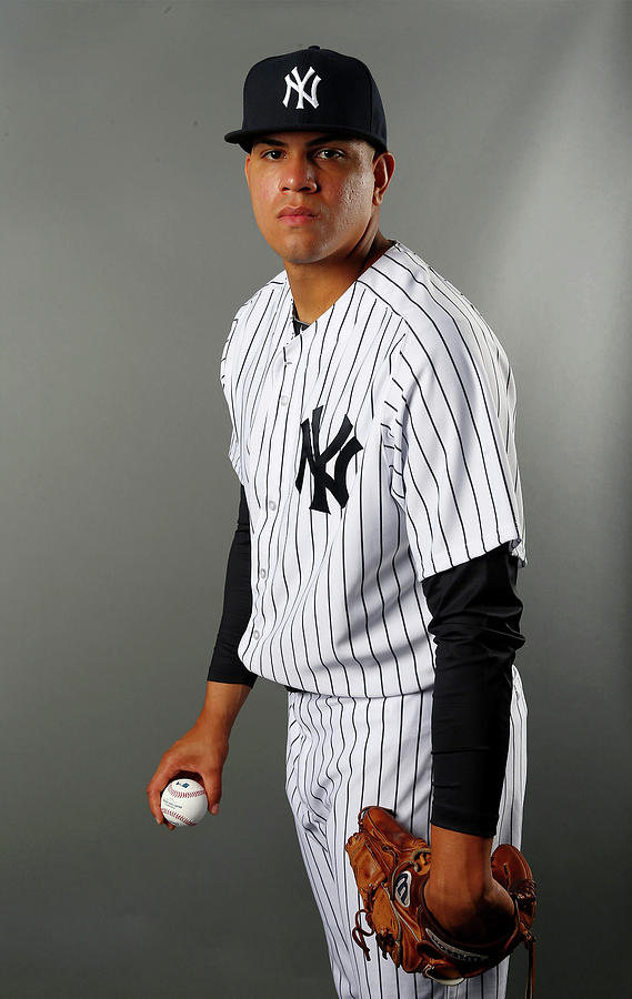 New York Yankees Photo Day 2 Photograph by Elsa
