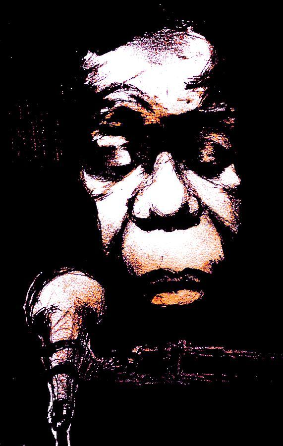 Portrait Digital Art - Nina Simone by Will  Carlson
