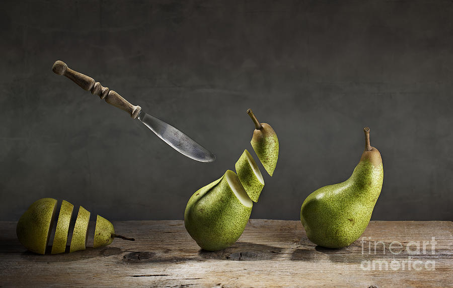 Pear Photograph - No Escape by Nailia Schwarz