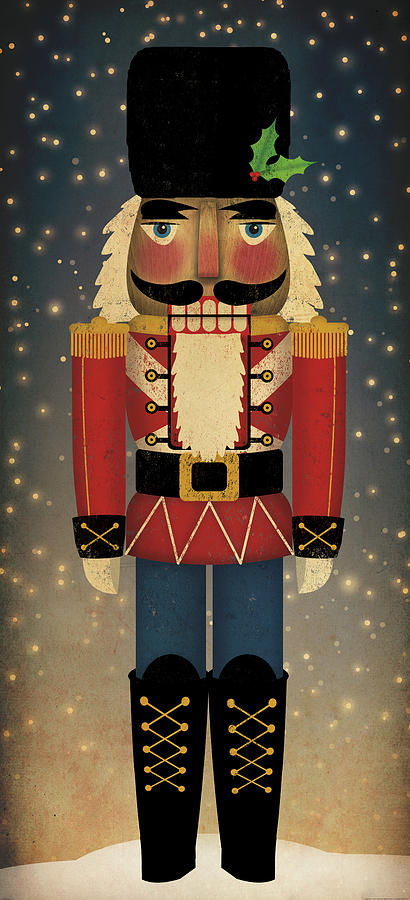 Christmas Painting - Nutcracker by Ryan Fowler