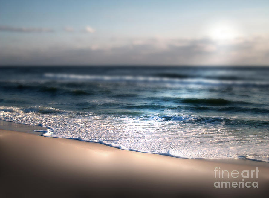 Shoreline Photograph - Ocean Blanket by Jeffery Fagan