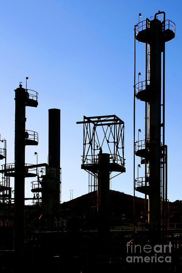 Abandoned Photograph - Oil Refinery by Henrik Lehnerer