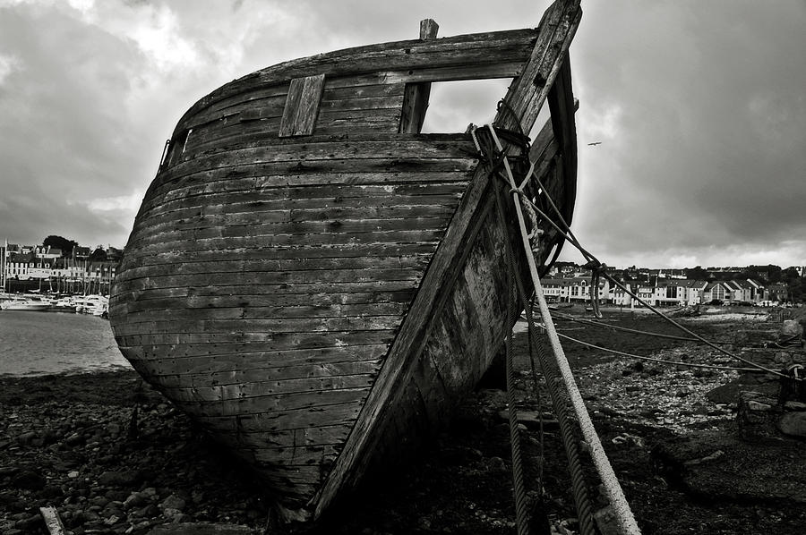 Old Abandoned Ship Photograph By Ricardmn Photography
