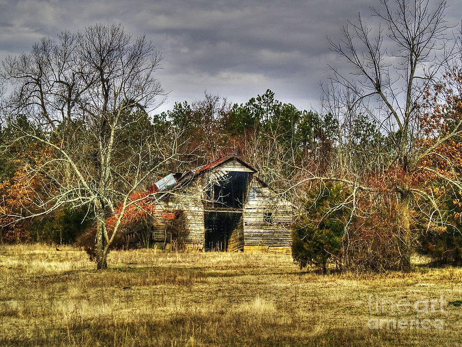 Old Barn Photograph - Old Barn  by Kevin Pugh