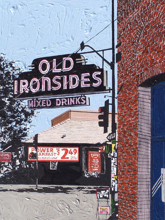 Sacramento Painting - Old Ironsides by Paul Guyer