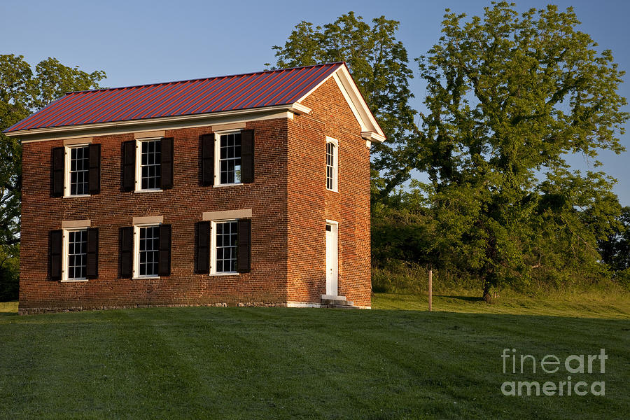 Old Schoolhouse Photograph - Old Schoolhouse by Brian Jannsen