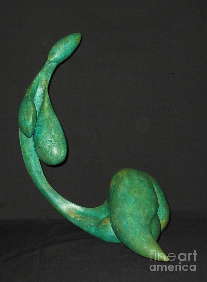 Plaster Sculpture Photograph Sculpture - Organic 3  by Flow Fitzgerald