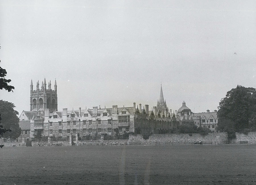 Retro Photograph - Oxford University, England by Retro Images Archive