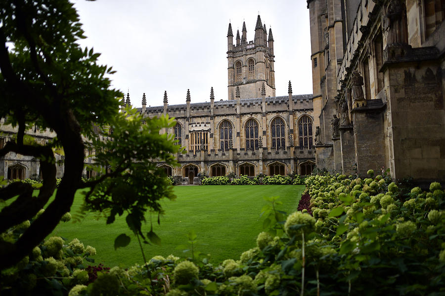 Oxford University Takes Number One Position In The World University Rankings Photograph by Carl Court