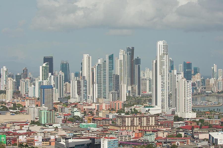 Corporate Business Photograph - Panama City Skyline by Jens Kuhfs