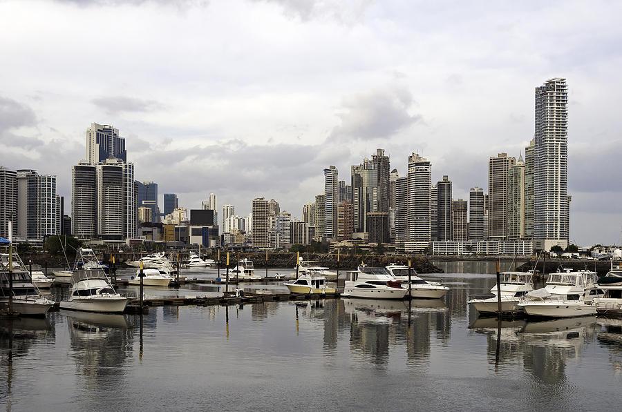 Panama Photograph - Panama City Skyline. Panama. by Fernando Barozza
