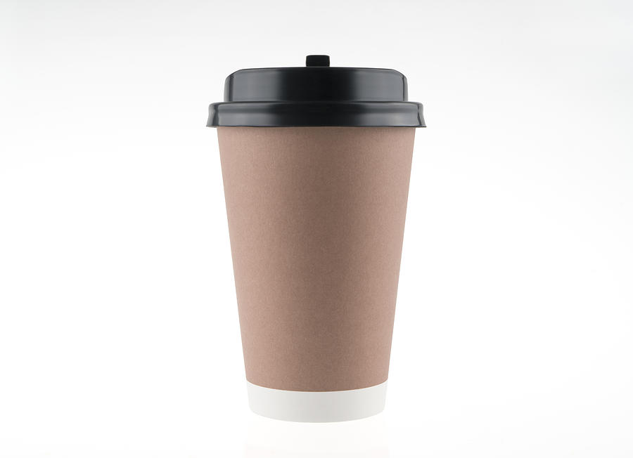 Paper coffee cup Photograph by Copyright Xinzheng. All Rights Reserved.