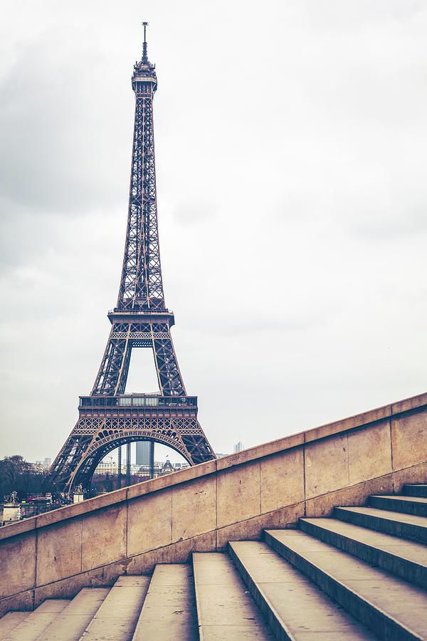 Paris Eiffel Tower Photograph by Deimagine