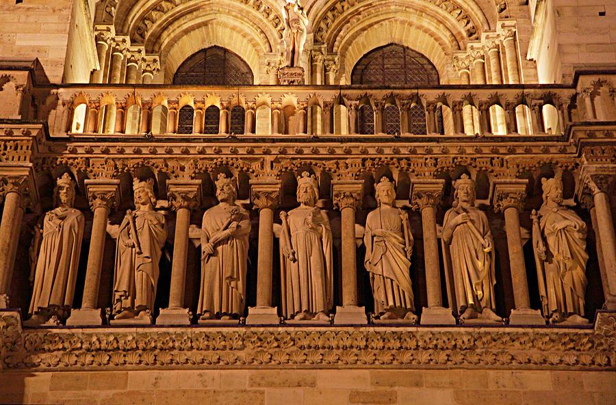 Aged Photograph - Paris France - Notre Dame De Paris - 01135 by DC Photographer