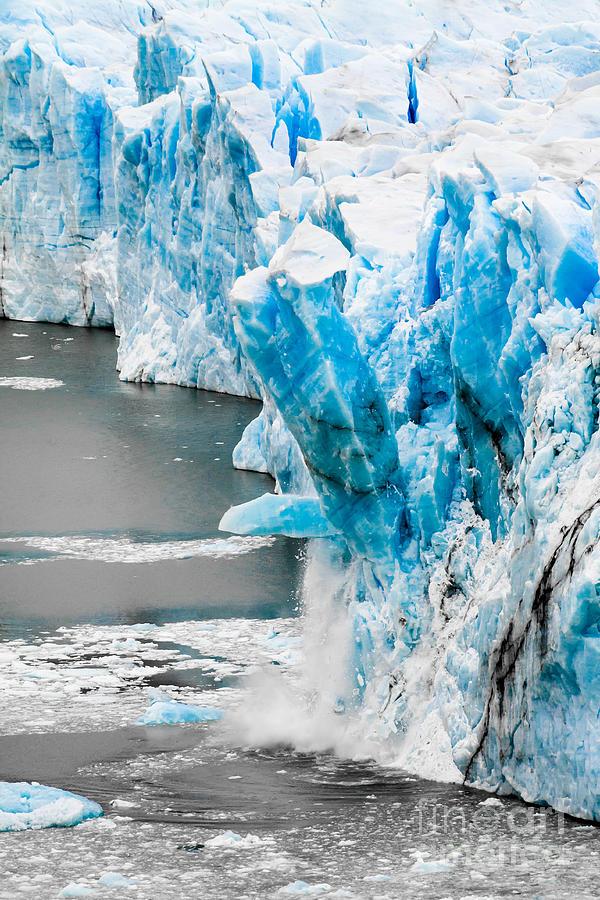 Perito Moreno Glacier In Patagonia Photograph